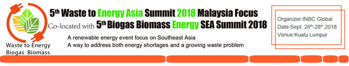 5th Waste to Energy Asia Summit 2018